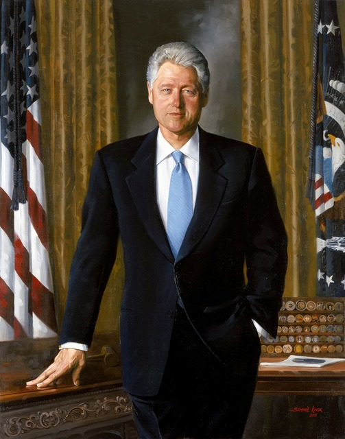 Bill clinton president usa.