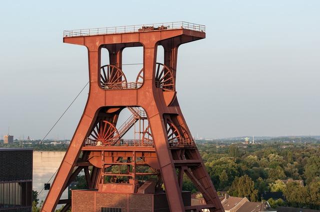 Bill zollverein eat, architecture buildings.