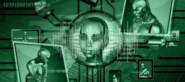 Binary one cyborg, science technology.