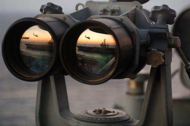 Binoculars see watch.