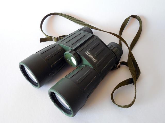 Binoculars spy observation.