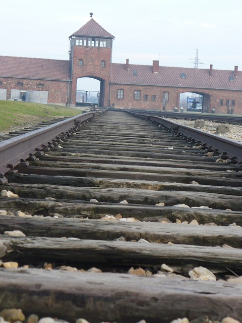 Birkenau history in the end, places monuments.