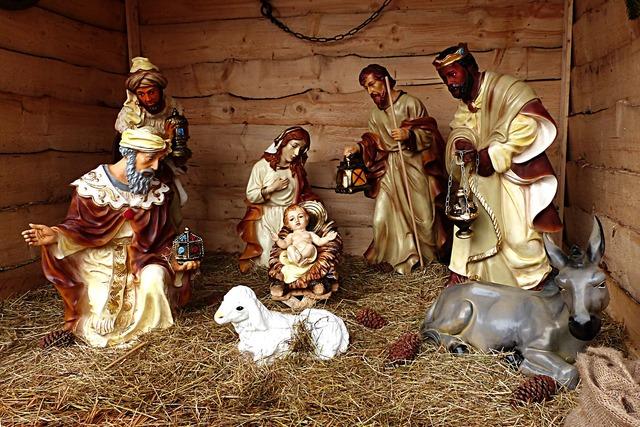 Birth of christ bethlehem christmas eve.