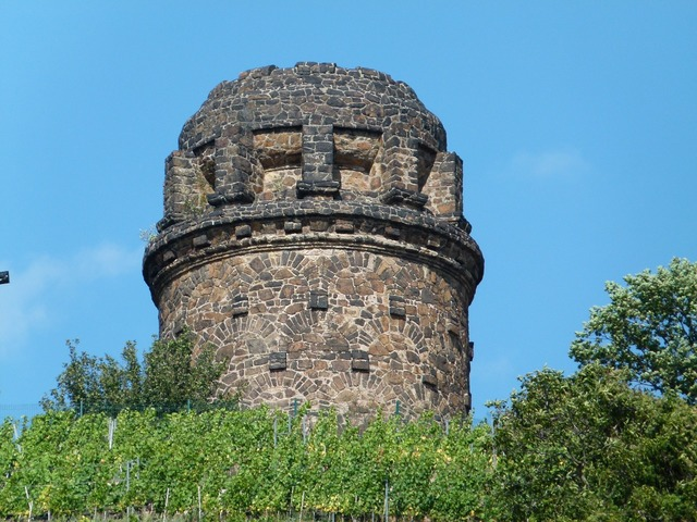 Bismarck tower radebeul cultural heritage, architecture buildings.