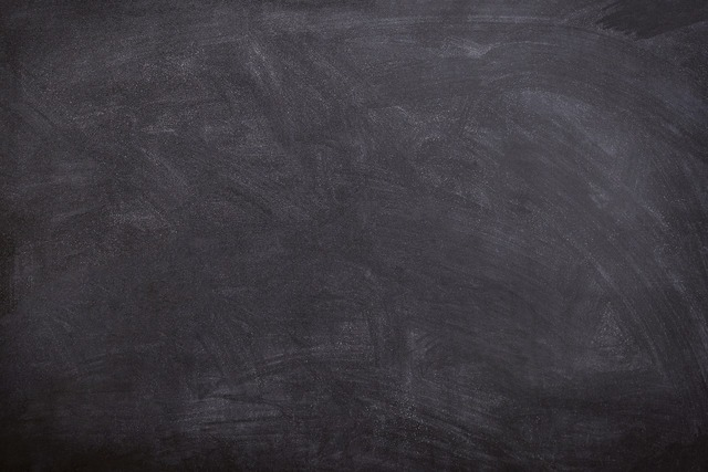Black board chalk traces, education.