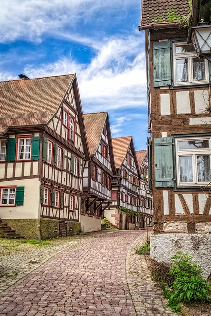 Black forest truss germany, architecture buildings.
