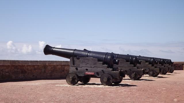 Black powder castle fort.