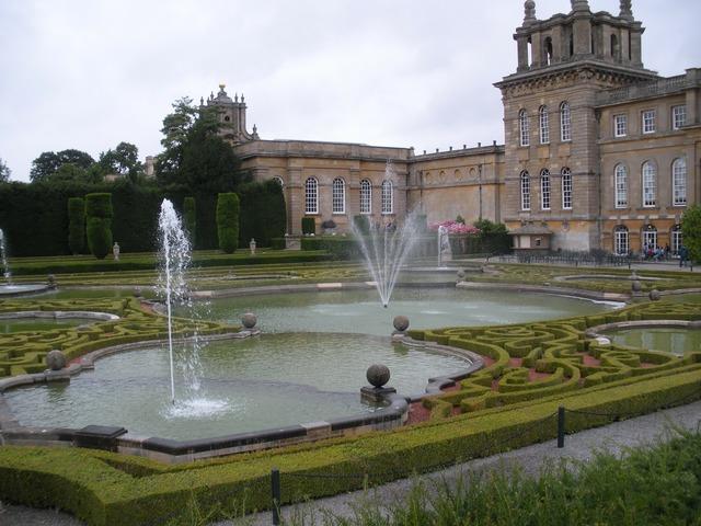 Blenheim palace great britain, architecture buildings.