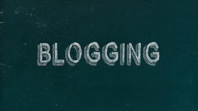 Blog blogging digital marketing.