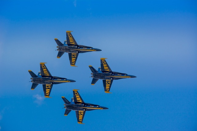 Blue angels f-18 hornet.