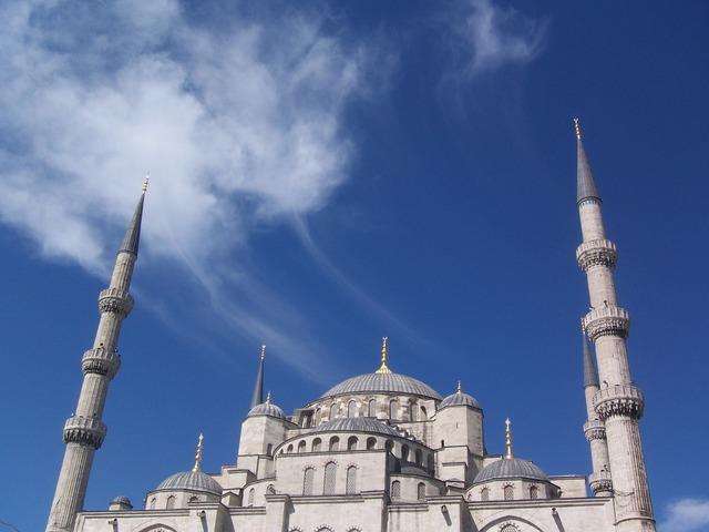 Blue mosque istanbul turkey.