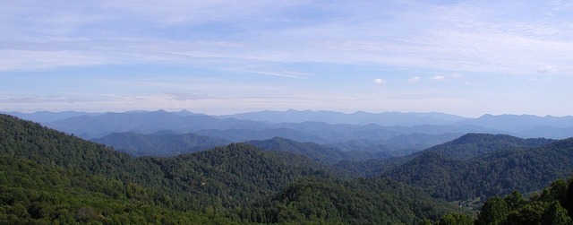 Blue ridge mountains appalachian, nature landscapes.
