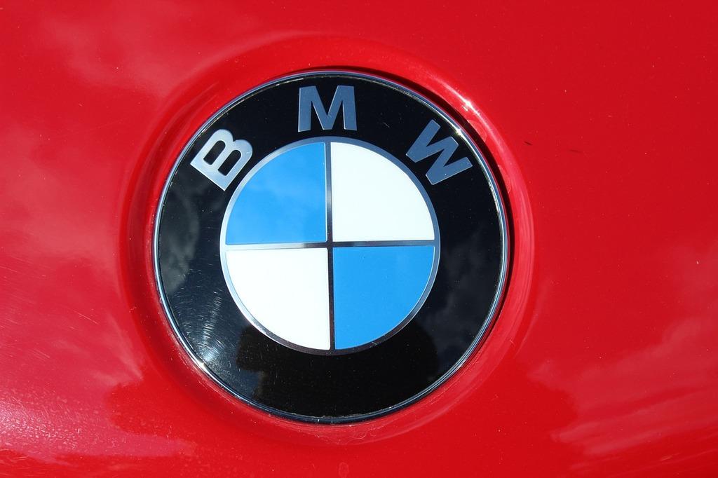 Bmw logo company, transportation traffic.