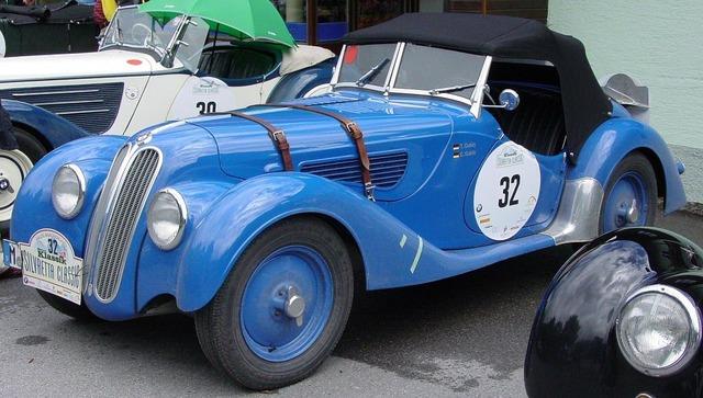 Bmw oldtimer auto.