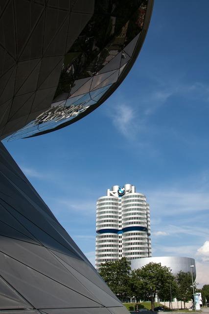 Bmw world bmw tower munich, architecture buildings.