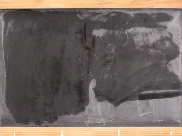 Board chalk school, education.