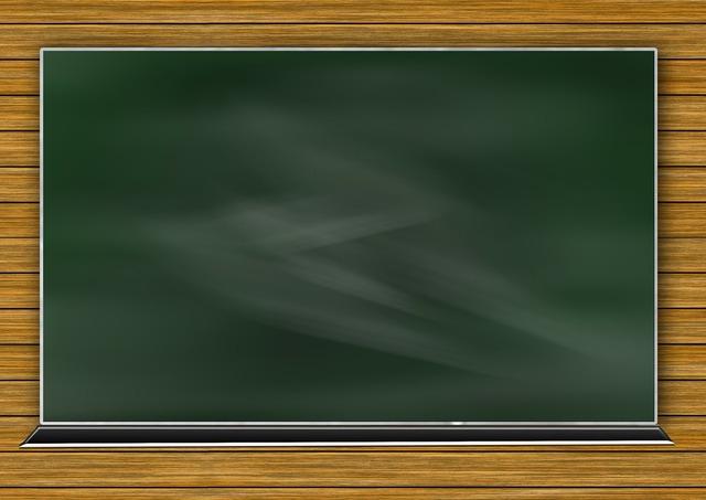 Board school blackboard, education.