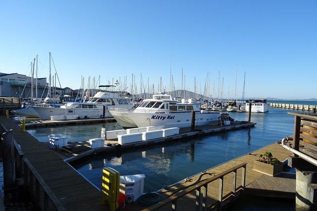 Boat ferry pier.