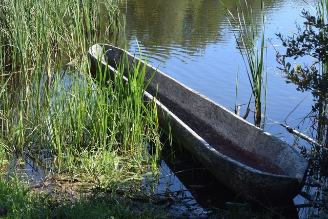Boat lake viking museum.
