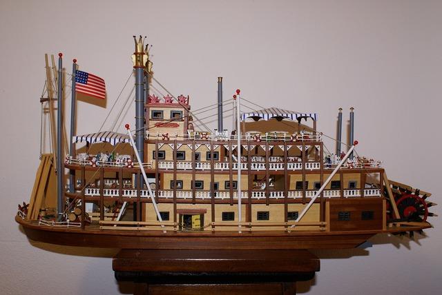 Boat model river.