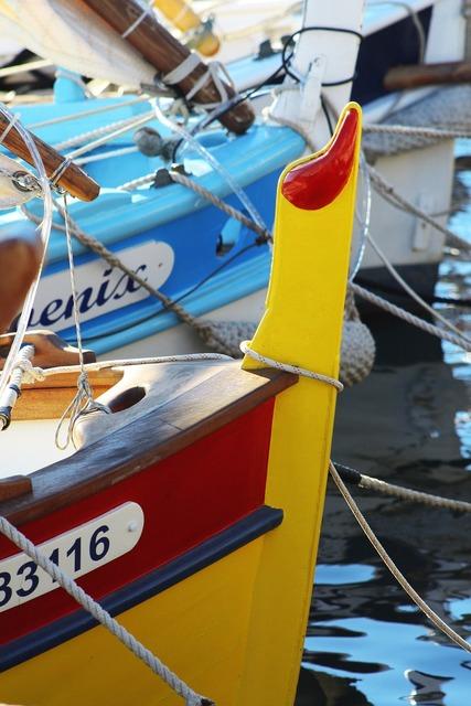 Boat port france.