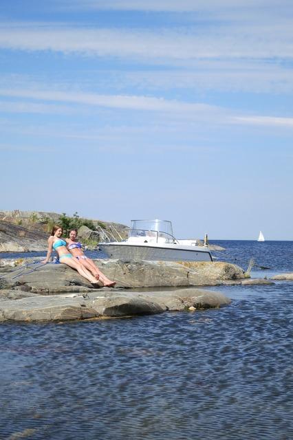 Boat sea summer.