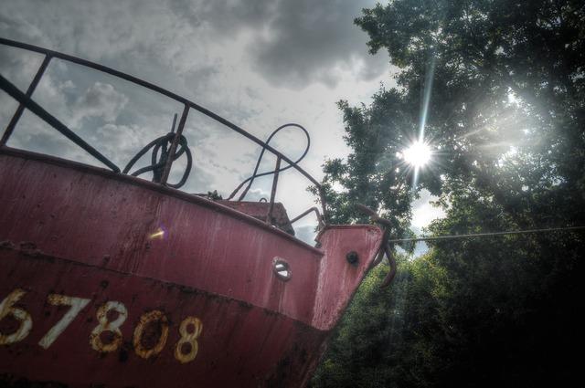 Boat ship bow.