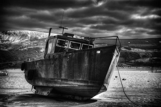 Boat ship wales, travel vacation.