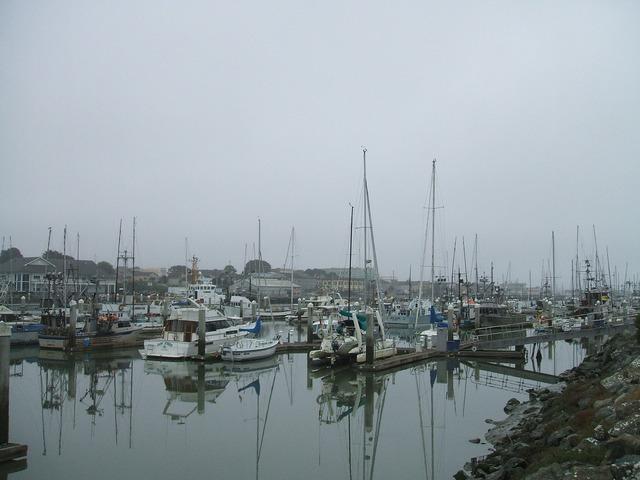 Boats harbor port, industry craft.