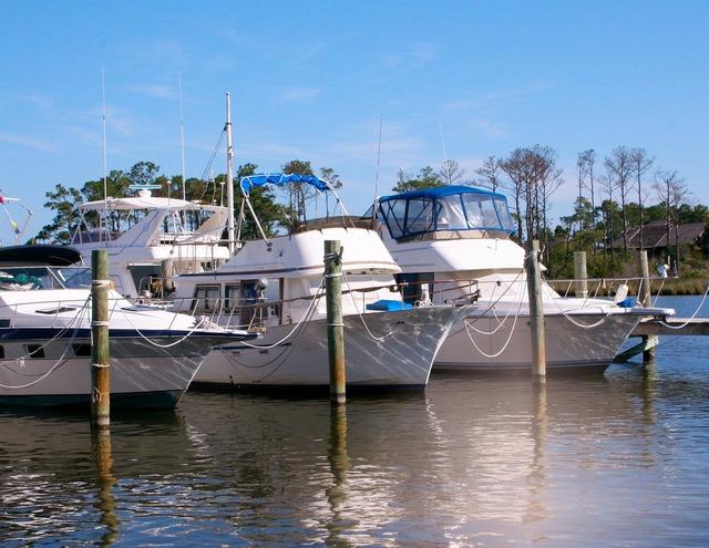 Boats marina dock, travel vacation.