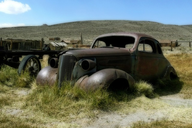 Bodie ghost town california.
