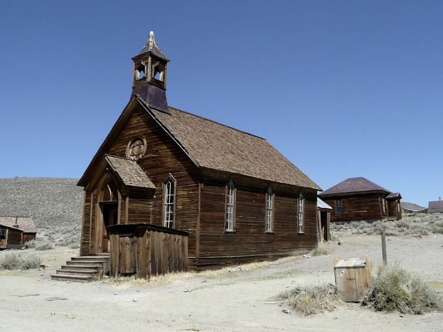 Bodie ghost town california, religion.