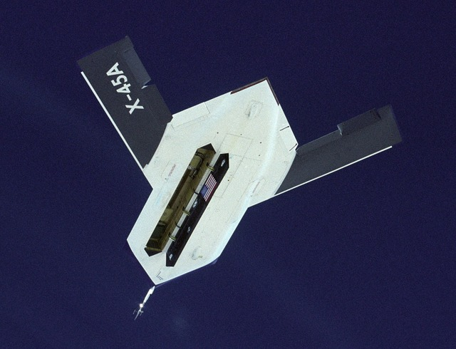 Boeing x-45a aircraft drone.