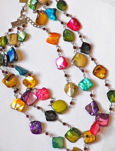 Bohemian necklace fashion beautiful, beauty fashion.