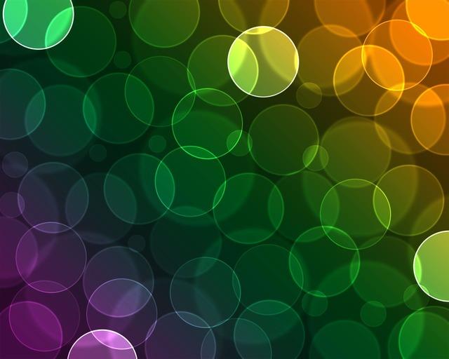 Bokeh circle colorful.