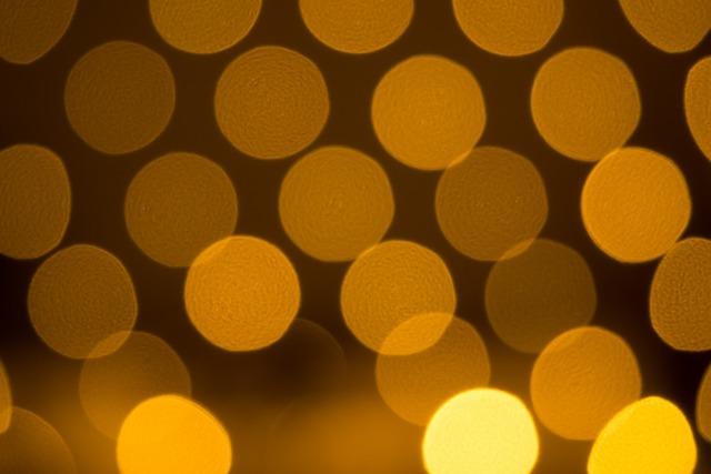 Bokeh circles of light light, backgrounds textures.