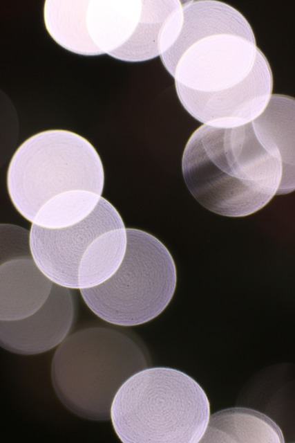 Bokeh lens out of focus.