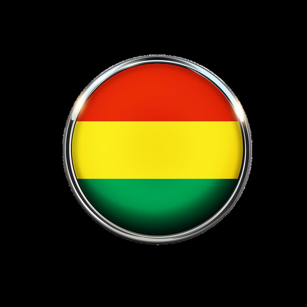 Bolivia flag circle.