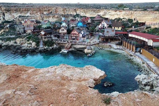 Booked malta blue, nature landscapes.