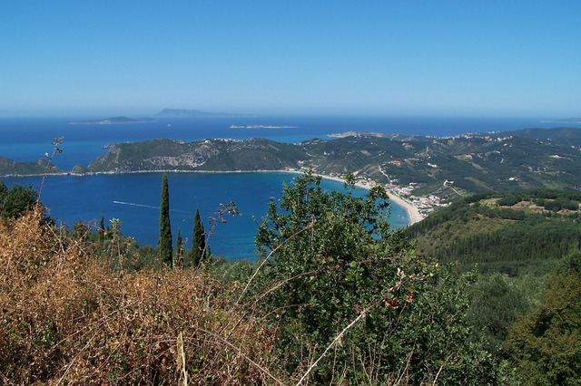 Booked mediterranean landscape, nature landscapes.