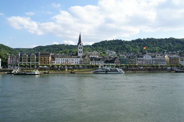 Boppard rhine germany, architecture buildings.