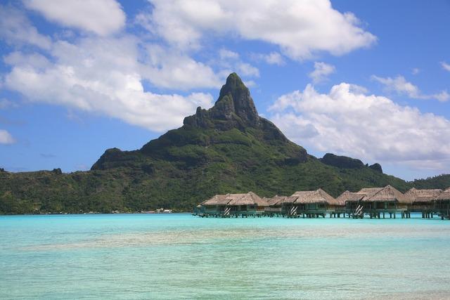 Bora bora tahiti atoll, travel vacation.