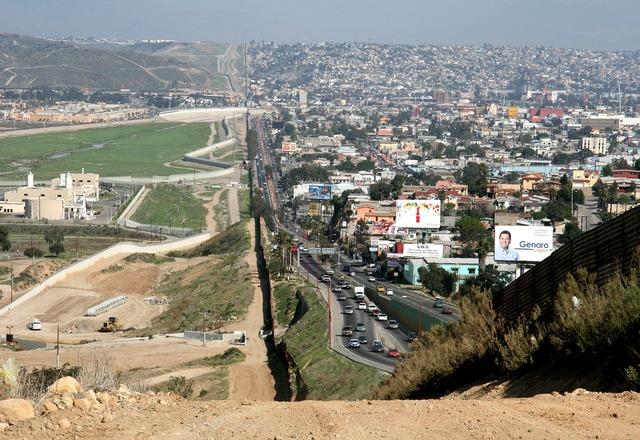 Border mexico usa.