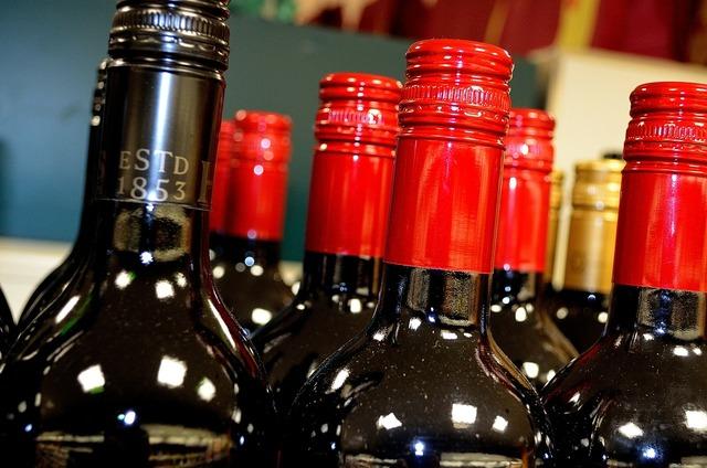 Bottles wine beverage, food drink.