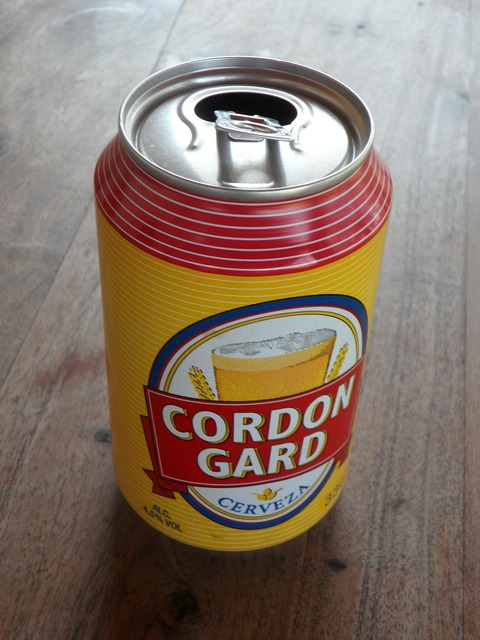 Box beer spanish, food drink.