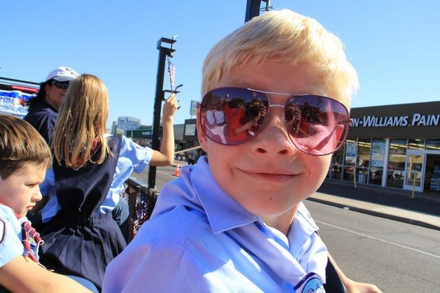 Boy sunglasses outdoors, people.