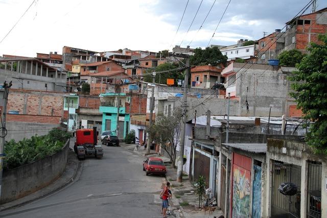 Brazil carapicuíba favela.