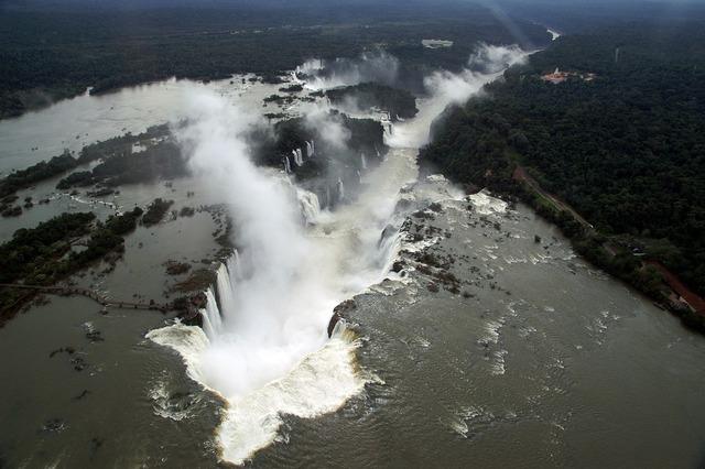 Brazil iguaçu waterfalls.