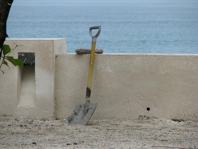 Break blade sand, industry craft.