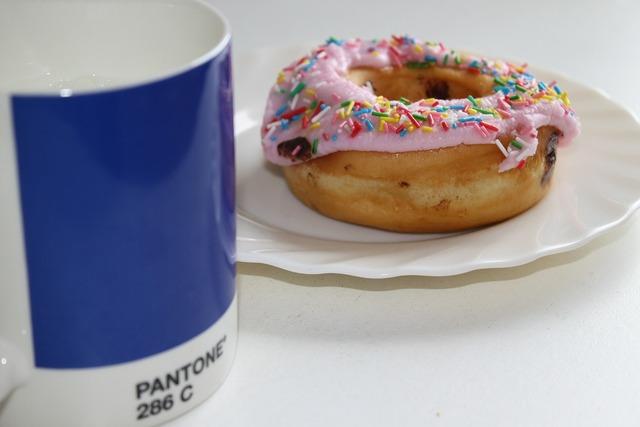 Breakfast mug cup, food drink.